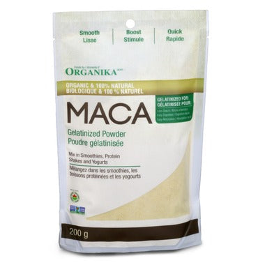 ORGANIKA Gelatinized Maca Powder 200 g