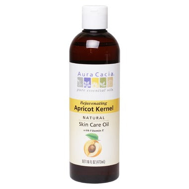 AURA CACIA Apricot Kernel Natural Skin Care Oil 473 ml