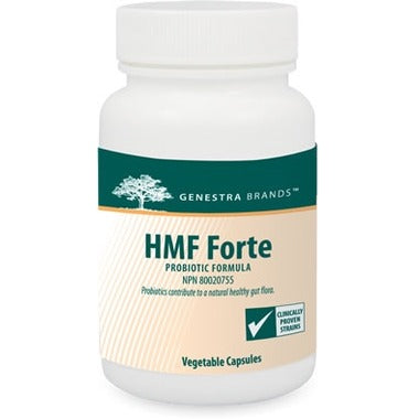 GENESTRA HMF Forte Probiotic Formula 120 Vegetable Capsules