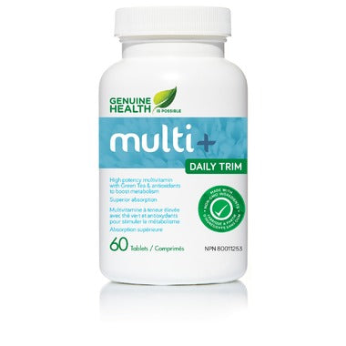 GENUINE HEALTH Multi+ Daily Trim 60 Tablets