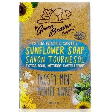 GREEN BEAVER Castile Sunflower Bar SoapFrosty Mint 90 g