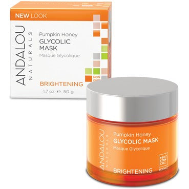 ANDALOU Naturals Pumpkin Honey Glycolic Mask For Normal & Combination Skin 50 mL