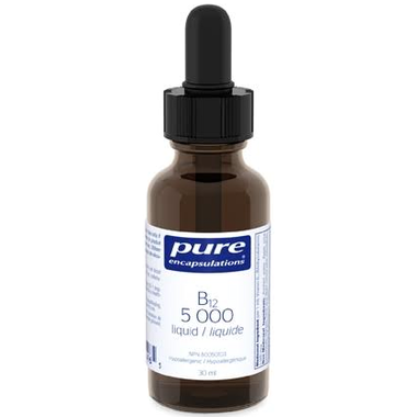 PURE ENCAPSULATIONS B12 5000 Liquid 30 mL