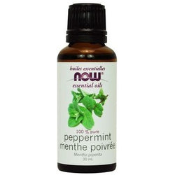 NOW Essential Oils Peppermint Oil 100% Pure 30 mL