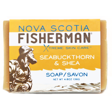 NOVA SCOTIA FISHERMAN Seabuckthorn & Shea Soap 136 g