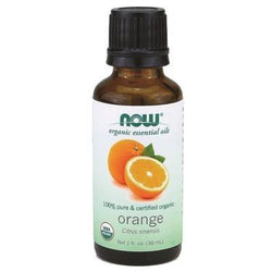 NOW Essential Oils Organic Orange Oil 30 mL