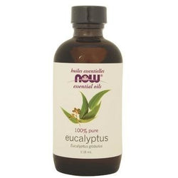 NOW Essential Oils Eucalyptus Oil 100% Pure 118 mL
