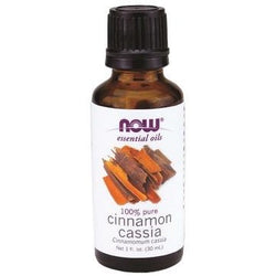 NOW Essential Oils Cinnamon Cassia Oil 100% Pure 30 mL