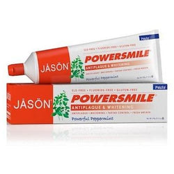 JASON Powersmile All Natural Whitening Fluoride Free Toothpaste 170 g