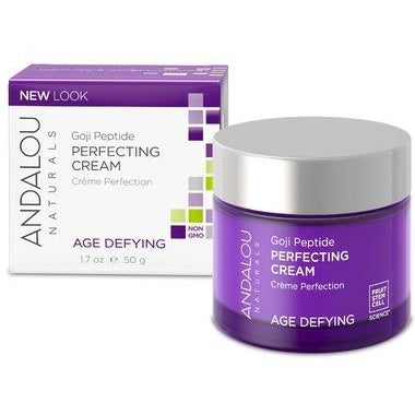 ANDALOU Naturals Age Defying Goji Peptide Perfecting Cream  50 g