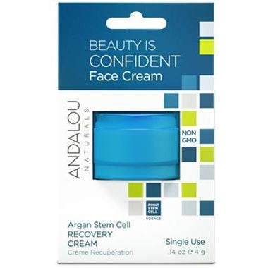 ANDALOU Naturals Argan Stem Cell Recovery Cream Pod  Single Use 4g