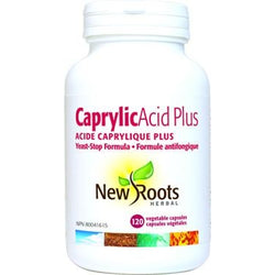 NEW ROOTS HERBAL Caprylic Acid Plus 120 Vegetable Capsules