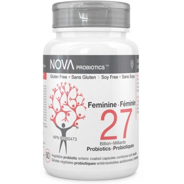 NOVA PROBIOTICS Feminine 27B 60 Vegetable Capsules