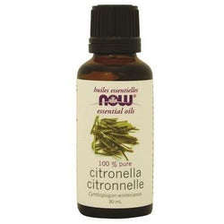 NOW Essential Oils Citronella Oil 100% Pure 30 mL