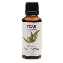NOW Essential Oils Eucalyptus Oil 100% Pure 30 mL