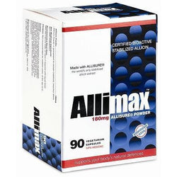 ALLIMAX 180 mg 90 Vegetarian Capsules