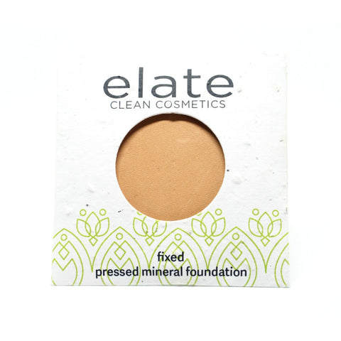 ELATE COSMETICS - PRESSED POWDER FLAXEN