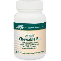 GENESTRA Active B12 60 Chewable Tablets