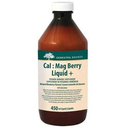 GENESTRA Cal : Mag Berry Liquid + Blueberry 450 mL