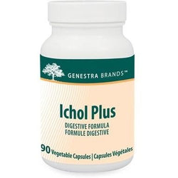 GENESTRA Ichol Plus Digestive Formula 90 Vegetable Capsules