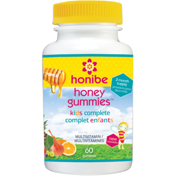 HONIBE KIDS HONEY MULTIVITAMIN 60 GUMMIES