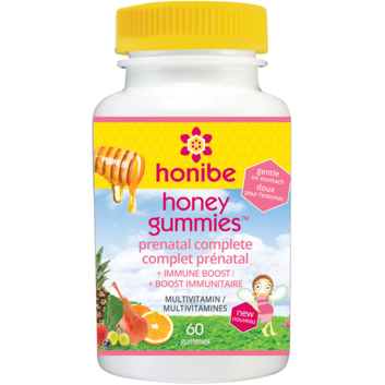 HONIBE PRENATAL HONEY MULTIVITAMIN 60 GUMMIES