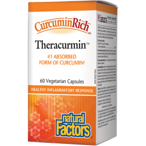 NATURAL FACTORS Curcuminrich™ Theracurmin™30 mg 60 Veg Caps