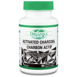 ORGANIKA - ACTIVATED CHARCOAL 90VC