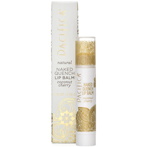 PACIFICA NAKED QUENCH LIP BALM - COCONUT CHERRY (TINT-FREE)