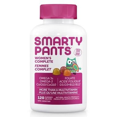 SMARTY PANTS WOMEN'S COMPLETE 120 GUMMIES