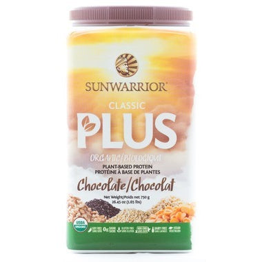 SUNWARRIOR PROTEIN - CLASSIC PLUS CHOCOLATE 750G
