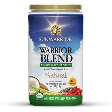 SUNWARRIOR PROTEIN - WARRIOR BLEND NATURAL 750G