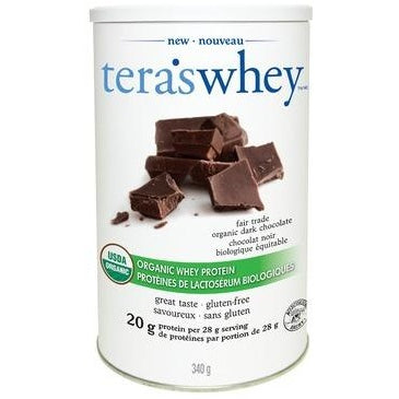 TERA'S WHEY Fair Trade Organic Dark Chocolate Whey Protein 340 g