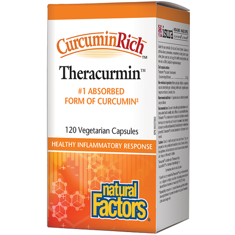 NATURAL FACTORS Curcuminrich™ Theracurmin™30 mg 120 Veg Caps
