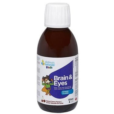 PLATINUM NATURALS Kids Brain and Eyes Liquid 150 mL