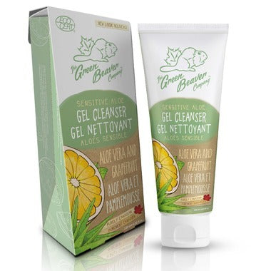 GREEN BEAVER Facial Cleanser  With Purifying Grapefruit & Soothing Aloe 120 mL