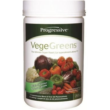 PROGRESSIVE VegeGreens Green Food Supplement Original Flavour 255g
