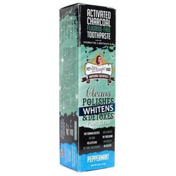 MY MAGIC MUD Activated Charcoal Toothpaste for Whitening Peppermint 113g