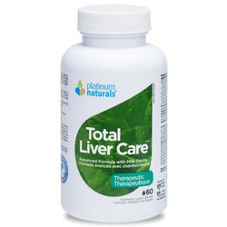 PLATINUM NATURALS Total Liver Care 60 Vegetarian Liquid Capsules