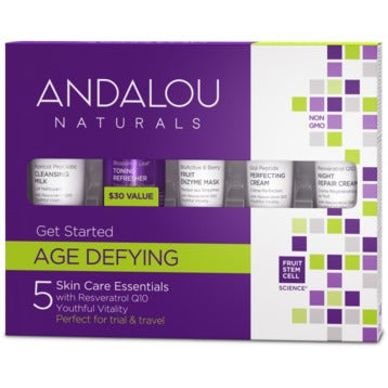 ANDALOU Naturals Age Defying Get Started Skin Care Kit5 Piece Kit