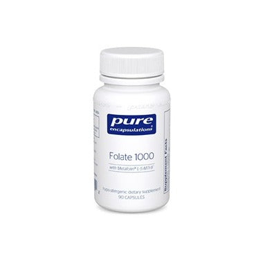 PURE ENCAPSULATIONS Folate 1000 90 Capsules