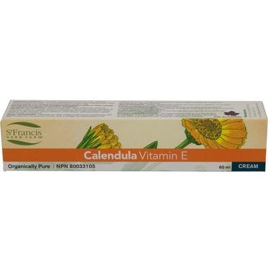 ST. FRANCIS HERB FARM Calendula Cream with Vitamin E 60mL