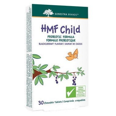 GENESTRA HMF Child Probiotic Formula Black Current Flavour  30 Chewable Tablets