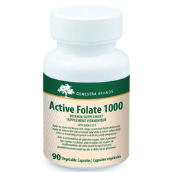 GENESTRA Active Folate 1000 90 Vegetable Capsules