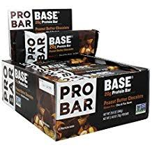 PROBAR Base Protein Bar  Peanut Butter Chocolate CASE of 12 x 70 g