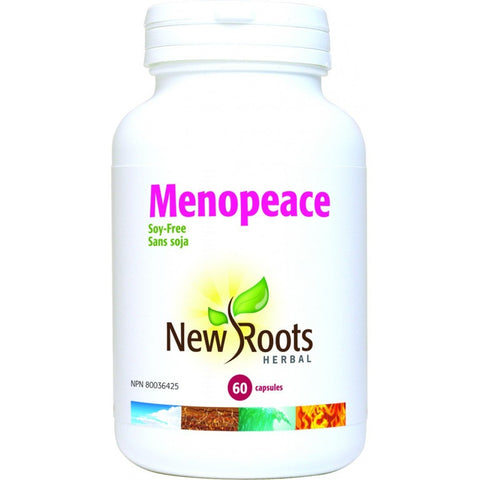 NEW ROOTS HERBAL Menopeace 60 Capsules