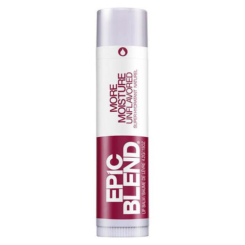 EPIC BLEND MORE MOISTURE UNFLAVOURED LIP BALM