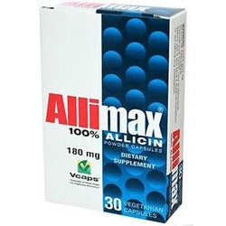 ALLIMAX 180 mg 30 Vegetarian Capsules