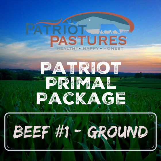 Primal Package - Beef #1 - Ground