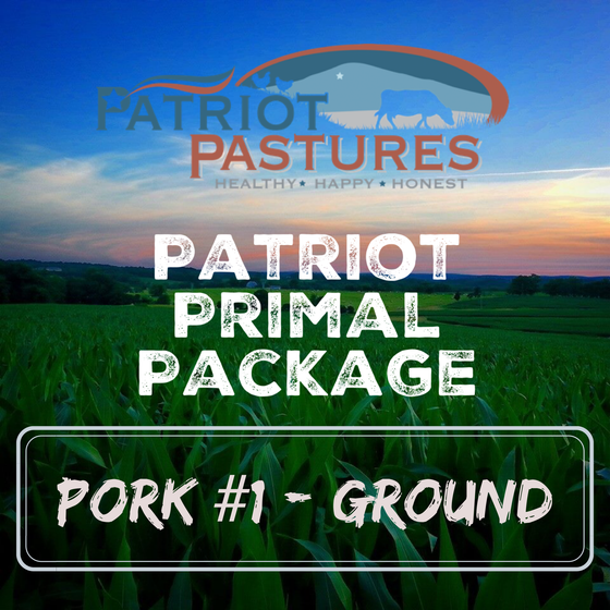 Primal Package - Pork #1 - Ground